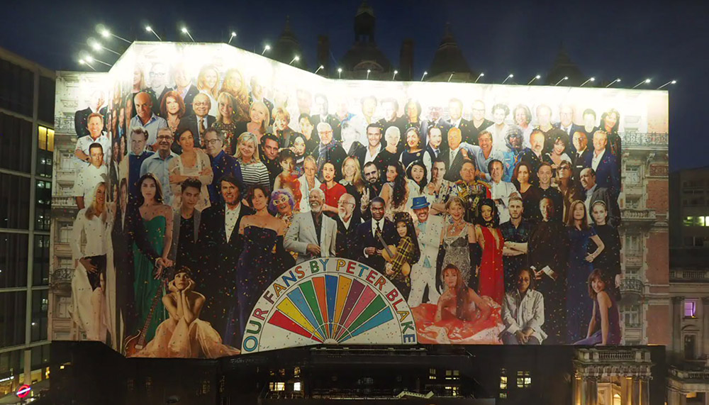 Sir Peter Blake Collage