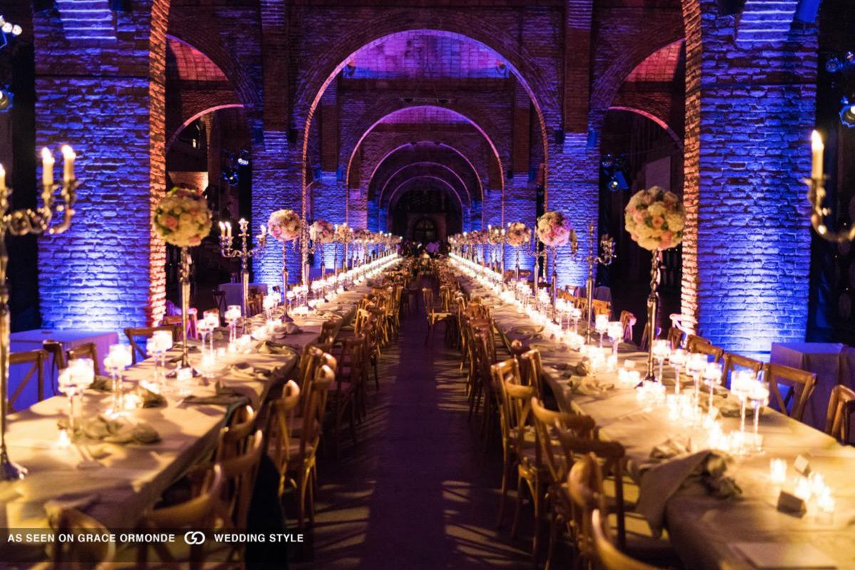 Cavas Codorniu Wedding Table